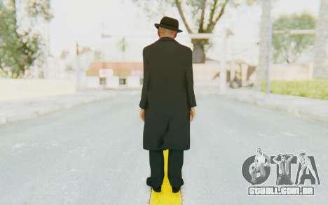 Mafia 2 - Jimmy Vendetta Black Suit para GTA San Andreas terceira tela
