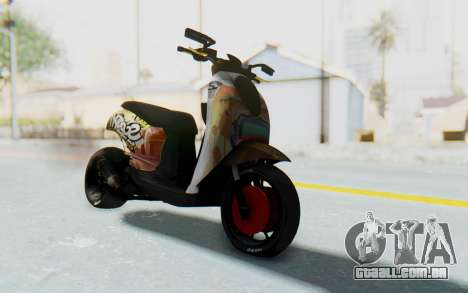 Honda Scoopyi Modified para GTA San Andreas