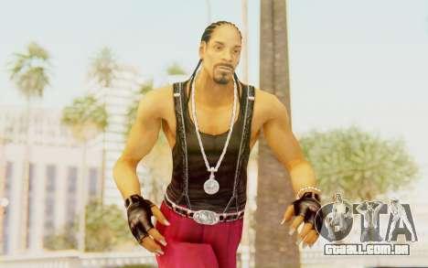 Def Jam Fight For New York - Snoop Dogg para GTA San Andreas