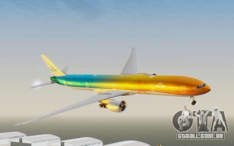 Boeing 777-300ER KLM - Royal Dutch Airlines v1 para GTA San Andreas