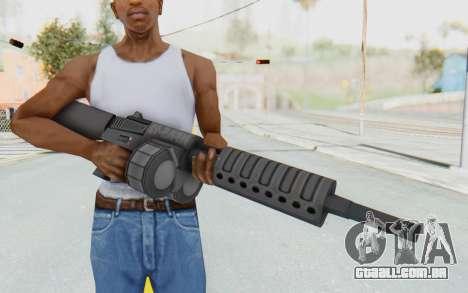 APB Reloaded - NFAS-12 para GTA San Andreas terceira tela