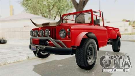 GTA 5 Canis Bodhi IVF para GTA San Andreas vista direita