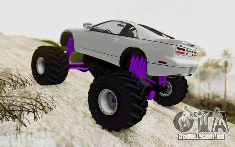 Nissan 300ZX Monster Truck para GTA San Andreas esquerda vista