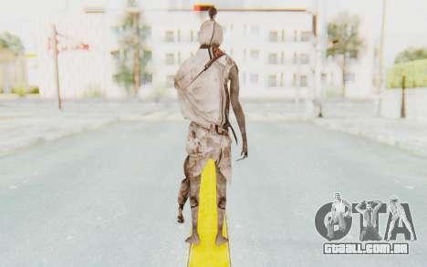 Pocong Skin para GTA San Andreas terceira tela