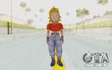 Dragon Ball Xenoverse Pan SSJ para GTA San Andreas segunda tela