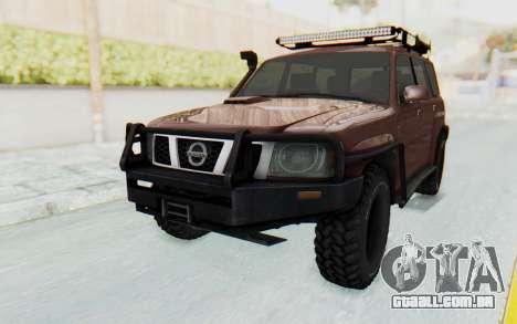 Nissan Patrol Y61 Off Road para GTA San Andreas
