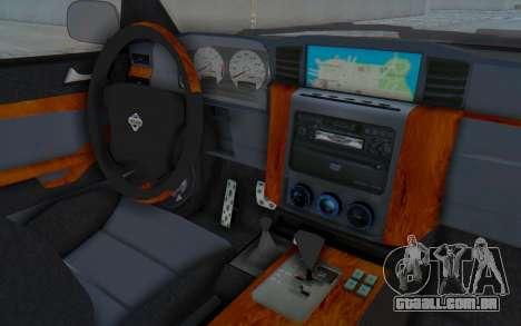 Nissan Patrol Y61 Off Road para GTA San Andreas vista interior