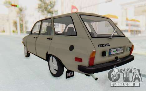 Dacia 1310 Break 1988 para GTA San Andreas esquerda vista