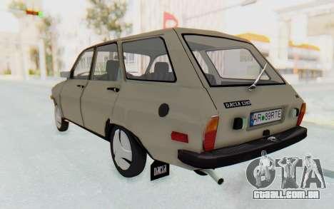 Dacia 1310 Break 1988 para GTA San Andreas esquerda vista