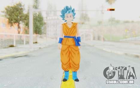 Dragon Ball Xenoverse Female Saiyan SSGSS para GTA San Andreas segunda tela