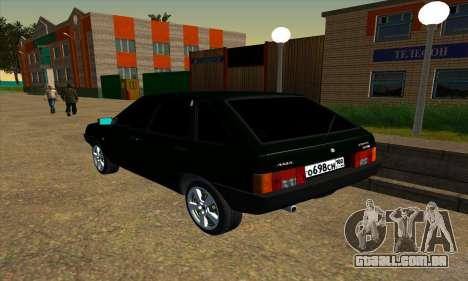 2109 v1.0 para GTA San Andreas vista direita