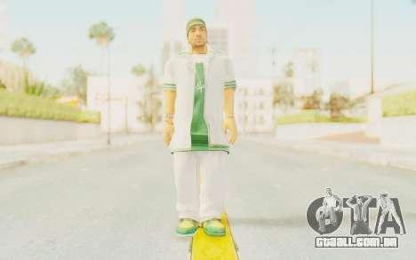 Def Jam Fight For New York - Sean Paul v2 para GTA San Andreas segunda tela