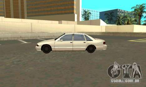 Caprice styled Premier para GTA San Andreas esquerda vista