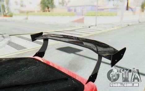 Mazda RX-7 FC3S BN Sport para GTA San Andreas vista superior