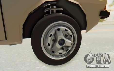 Dacia 1310 TLX para GTA San Andreas vista traseira