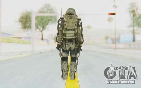 CoD AW US Marine Assault v2 Head B para GTA San Andreas terceira tela