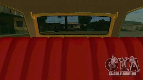 BK VAZ 2102 v1.0 Deriva para GTA San Andreas vista superior