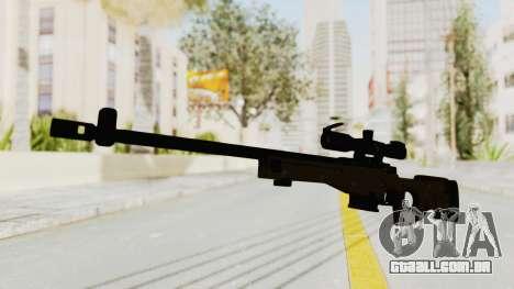 L96 para GTA San Andreas segunda tela