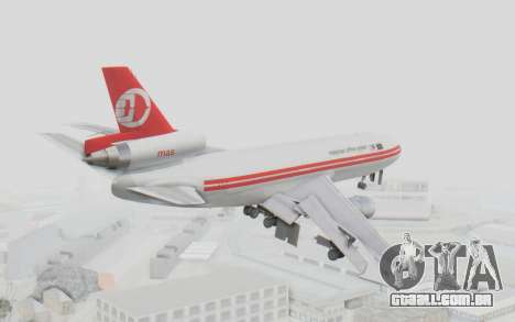 DC-10-30 Malaysia Airlines (Retro Livery) para GTA San Andreas vista direita