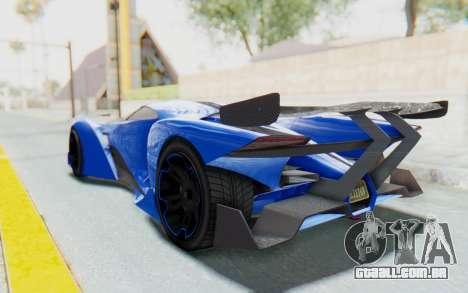 GTA 5 Grotti Prototipo v1 para GTA San Andreas esquerda vista
