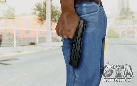 HK USP 45 Black para GTA San Andreas