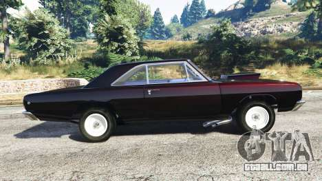 GTA 5 Dodge Dart 1968 Hemi vista lateral esquerda