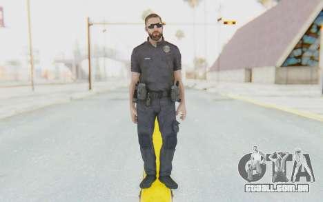 CoD BO2 LAPD v3 para GTA San Andreas segunda tela