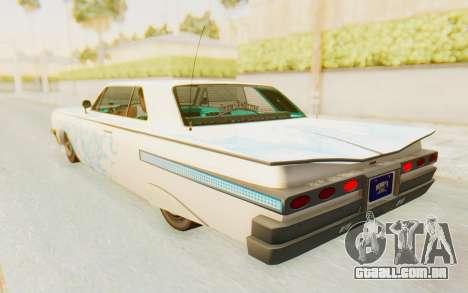 GTA 5 Declasse Voodoo Alternative v1 para as rodas de GTA San Andreas