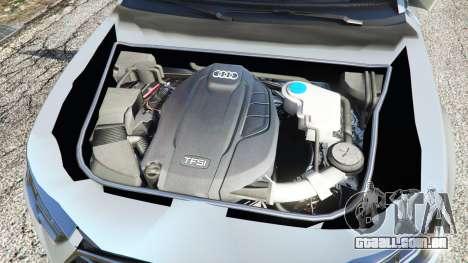 GTA 5 Audi A4 2017 v1.1 traseira direita vista lateral