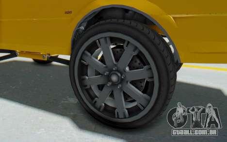 GTA 5 Willard Faction Custom Donk v1 IVF para GTA San Andreas vista traseira