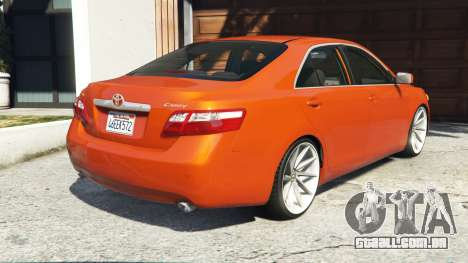 GTA 5 Toyota Camry V40 2008 [add-on] traseira vista lateral esquerda