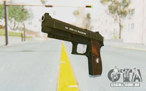 GTA 5 Hawk & Little Pistol para GTA San Andreas segunda tela