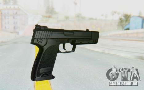 HK USP 45 Black para GTA San Andreas terceira tela