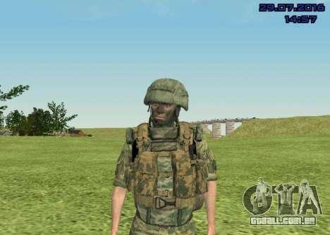 Corpo De Fuzileiros Navais Lutador para GTA San Andreas
