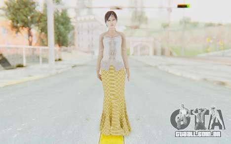 Linda Meilinda Kebaya para GTA San Andreas segunda tela