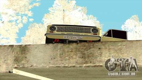 VAZ 21013 para GTA San Andreas vista direita