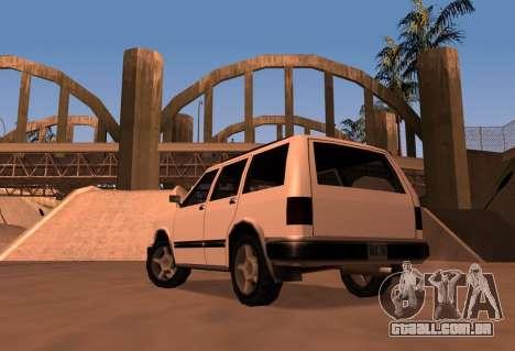 Landstalker SRT8 para GTA San Andreas esquerda vista