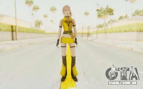 Final Fantasy XIII - Lightning Electronica para GTA San Andreas segunda tela