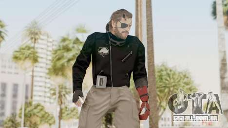 MGSV Phantom Pain Venom Snake Leather Jacket para GTA San Andreas