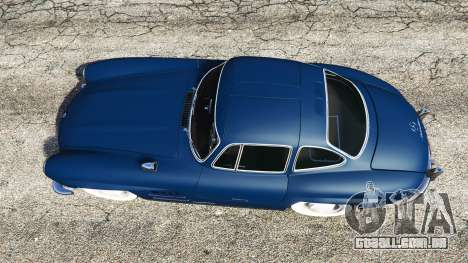 GTA 5 Mercedes-Benz 300SL Gullwing 1955 voltar vista