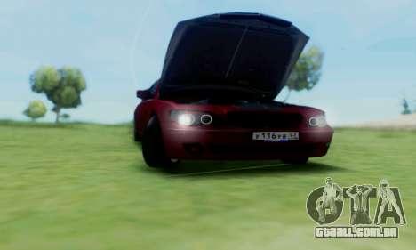 BMW 760i para GTA San Andreas vista interior