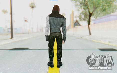 Bucky Barnes (Winter Soldier) v1 para GTA San Andreas terceira tela