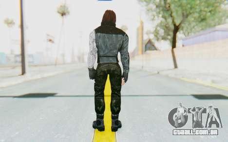 Bucky Barnes (Winter Soldier) v1 para GTA San Andreas terceira tela