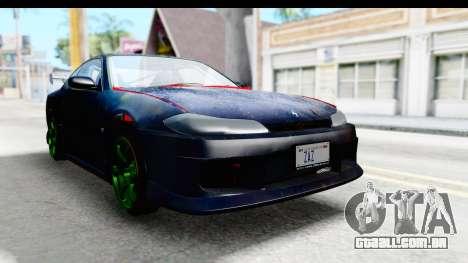 Nissan Silvia S15 Galaxy Drift v2.1 para GTA San Andreas vista direita