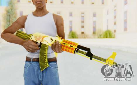 CS:GO - AK-47 Dragon Lore para GTA San Andreas terceira tela