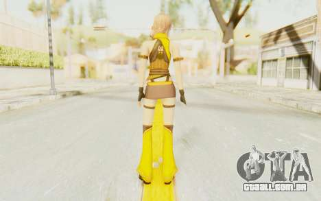 Final Fantasy XIII - Lightning Electronica para GTA San Andreas terceira tela