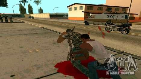 Prince Of Persia Water Sword para GTA San Andreas sexta tela