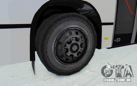 Pylife Bus para GTA San Andreas vista traseira