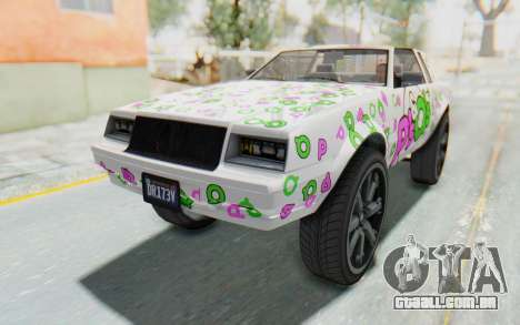 GTA 5 Willard Faction Custom Donk v1 IVF para o motor de GTA San Andreas