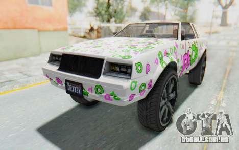GTA 5 Willard Faction Custom Donk v1 para o motor de GTA San Andreas